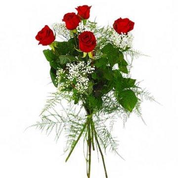 vad betyder fem rosor