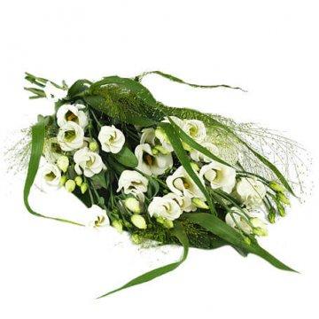 skicka blommor begravning